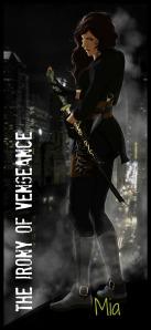 """Mia """"Assassin Mode"""" bookmark by Riam Azariel"""